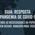 Plan International Brasil elabora guia de resposta à COVID-19