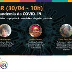 Confira como foi o webinar de resposta à pandemia da COVID-19